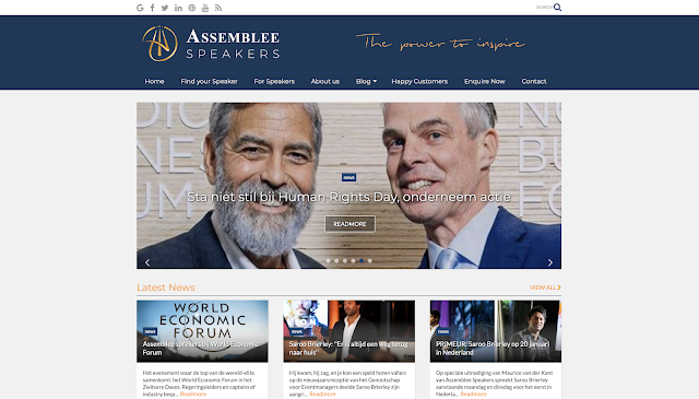 Assemblee Speakers, Smart-Blog, UP-TO-DATE Webdesign