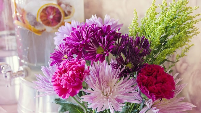 Papel de Parede Flores Coloridas Naturais