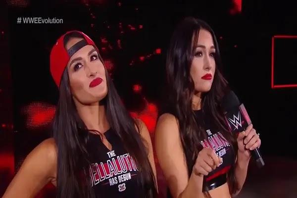 نيكي بيلا تتمسك بأمل العودة لحلبات WWE
