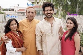 Kartik Aaryan Family Photo, Sister Photo,