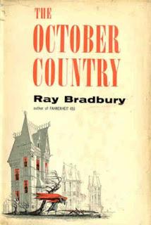 The October Country. Ray Bradbury. Ballantine Books. Outubro de 1955. Book Cover by Joe Mugnaini.