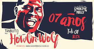 Concierto tributo a Howlin Wolf | Aniversario de Smoking Molly