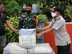 BPBD Parepare Salurkan Bantuan Material Kepada Korban Longsor