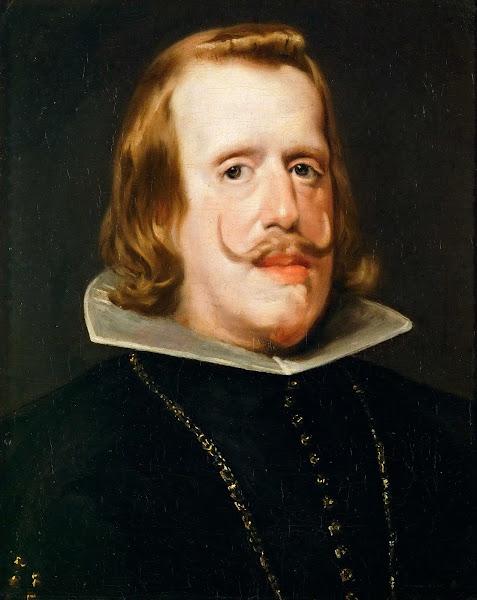 Диего Веласкес - Портрет Филиппа IV (1652-1653)