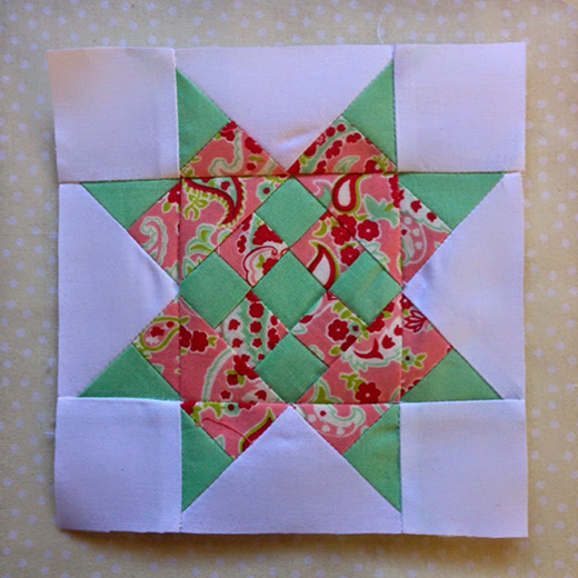 Centennial Quilt Block designed By Rose Johnston of Threadbare Creations