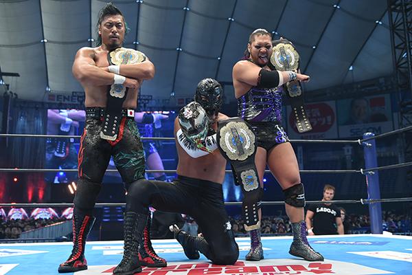 Novos NEVER Openweight 6-Man Tag Team Champions são coroados no Wrestle Kingdom 14