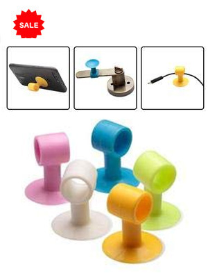Multipurpose Silicone Door Stopper and Mobile Stand