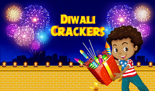 Diwali Crackers app – The best entertaining app for blasting various crackers, as in real time.