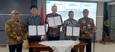 Pelindo 1, Port of Rotterdam Authority dan Zhejiang Provincial Seaport Investment & Operation Group Co, Ltd.  Tandatangani Kesepakatan Pengembangan Pelabuhan Kuala Tanjung
