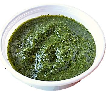 gren coriander sauce recipe