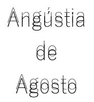 Angústia de Agosto, Catarse Poética, David Alves Mendes