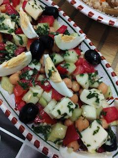 Salade a la grecque réalisé par Feriel Hamidani