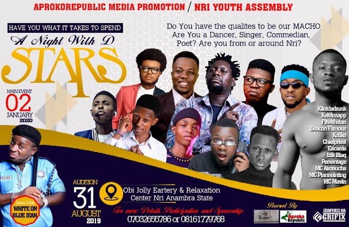 Aprokorepublic Media Presents: A Night With The Stars Talent Hunt Show!!! (See Details)