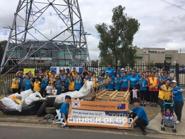 Mother's Street Cleanup Movement with ASEZ, NSW