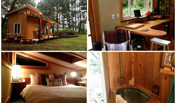 Hand Built Yoga Teacher's Tiny House | PintFeed