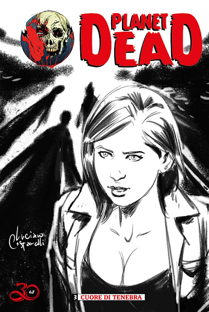 Planet Dead #3: blank cover con disegno b/n