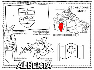 alberta coloring pages - photo#15