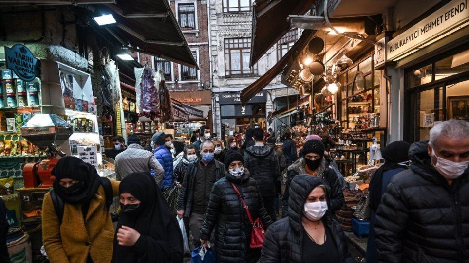 Τουρκία: Αυξάνονται τα κρούσματα μετά την χαλάρωση των περιορισμών