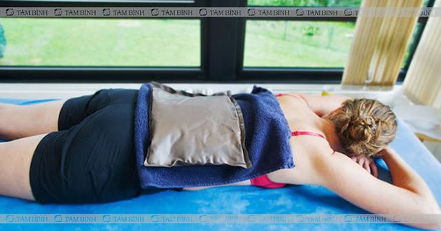 Chườm lạnh giúp giảm đau hiệu quả tức thời
