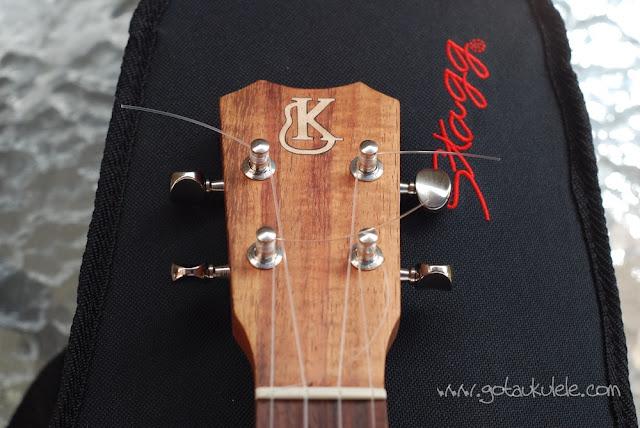 Kanile'a K1 Tenor Ukulele headstock