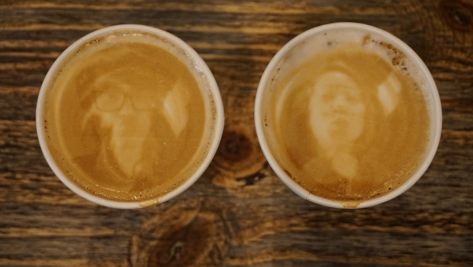Put Your Face On Your Latte @ Bardot Bars and Coffee - Tustin