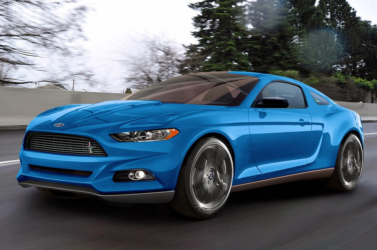 New Ford Mustang Racing Car 2017