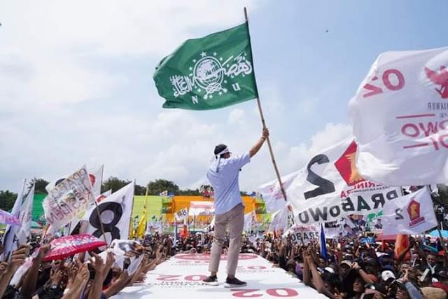 Bawa Bendera NU saat Kampanye, Sandiaga Dikecam PCNU Lumajang