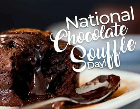 National Chocolate Souffle Day Wishes Photos