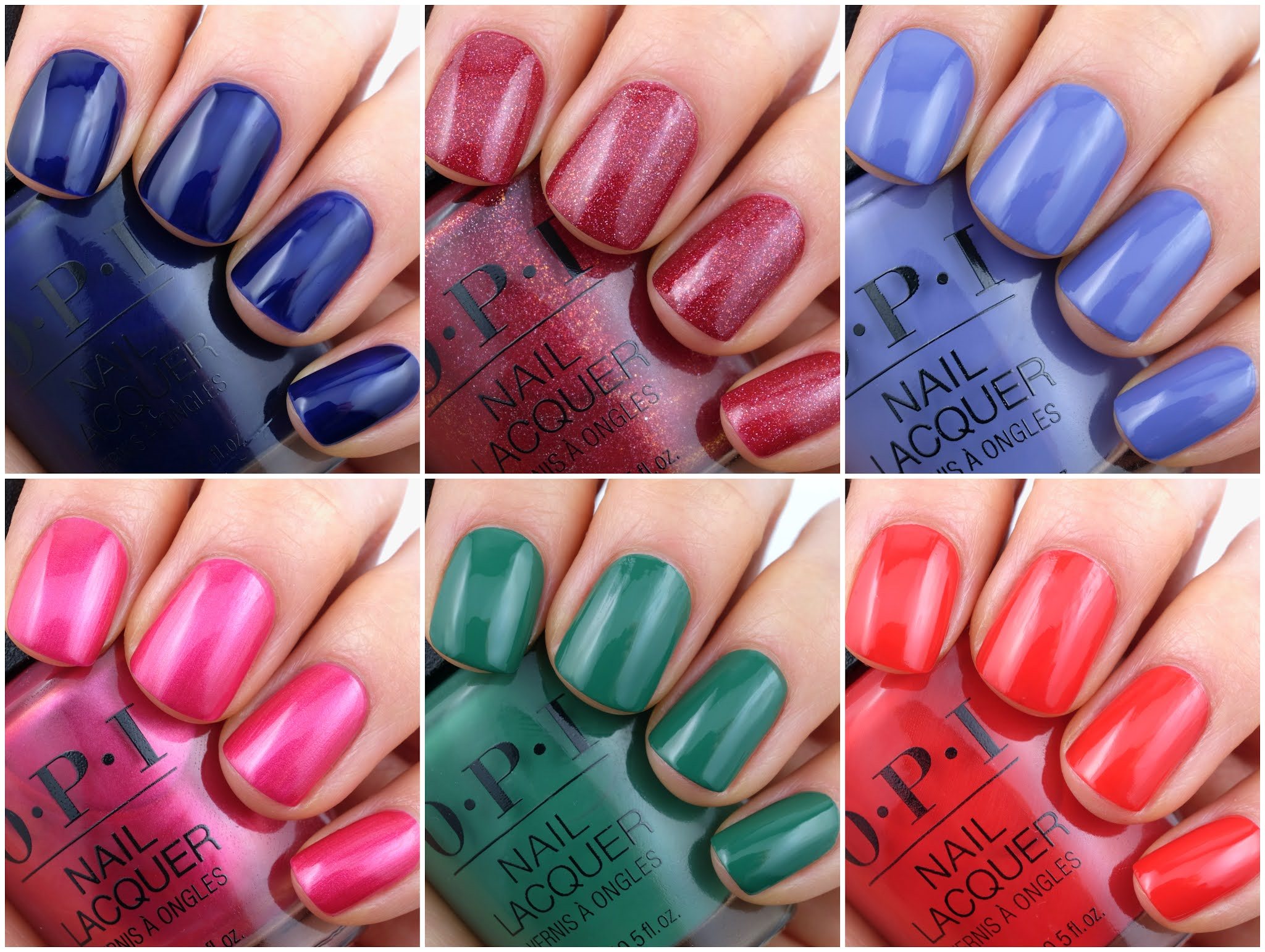 OPI | Spring 2021 Hollywood Collection: Review and Swatches