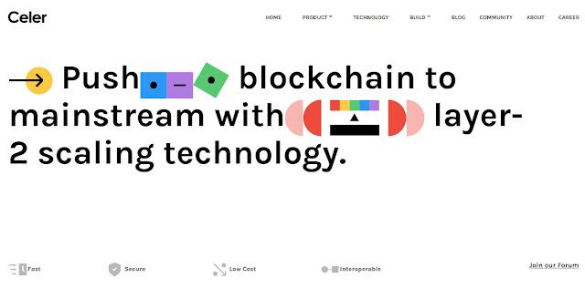 Screenshot Website Celer Network (CELR)
