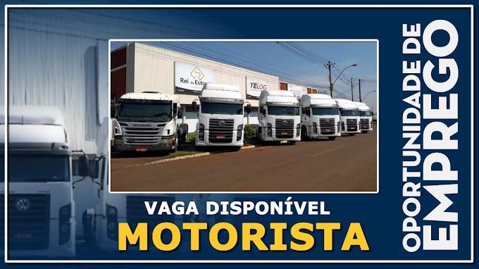 Telog Logistica abre vagas para Motorista Truck