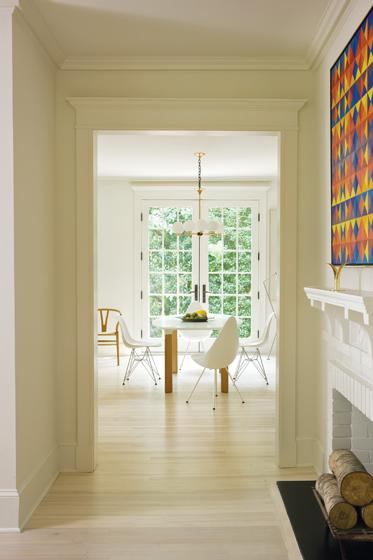 Modern Swedish farmhouse design by Nestor Santa-Cruz found on Hello Lovely