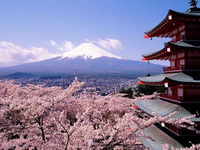 6 Tips Liburan Murah ke Jepang Dengan Promo Air Asia - View Gununung Fujiyama Japan