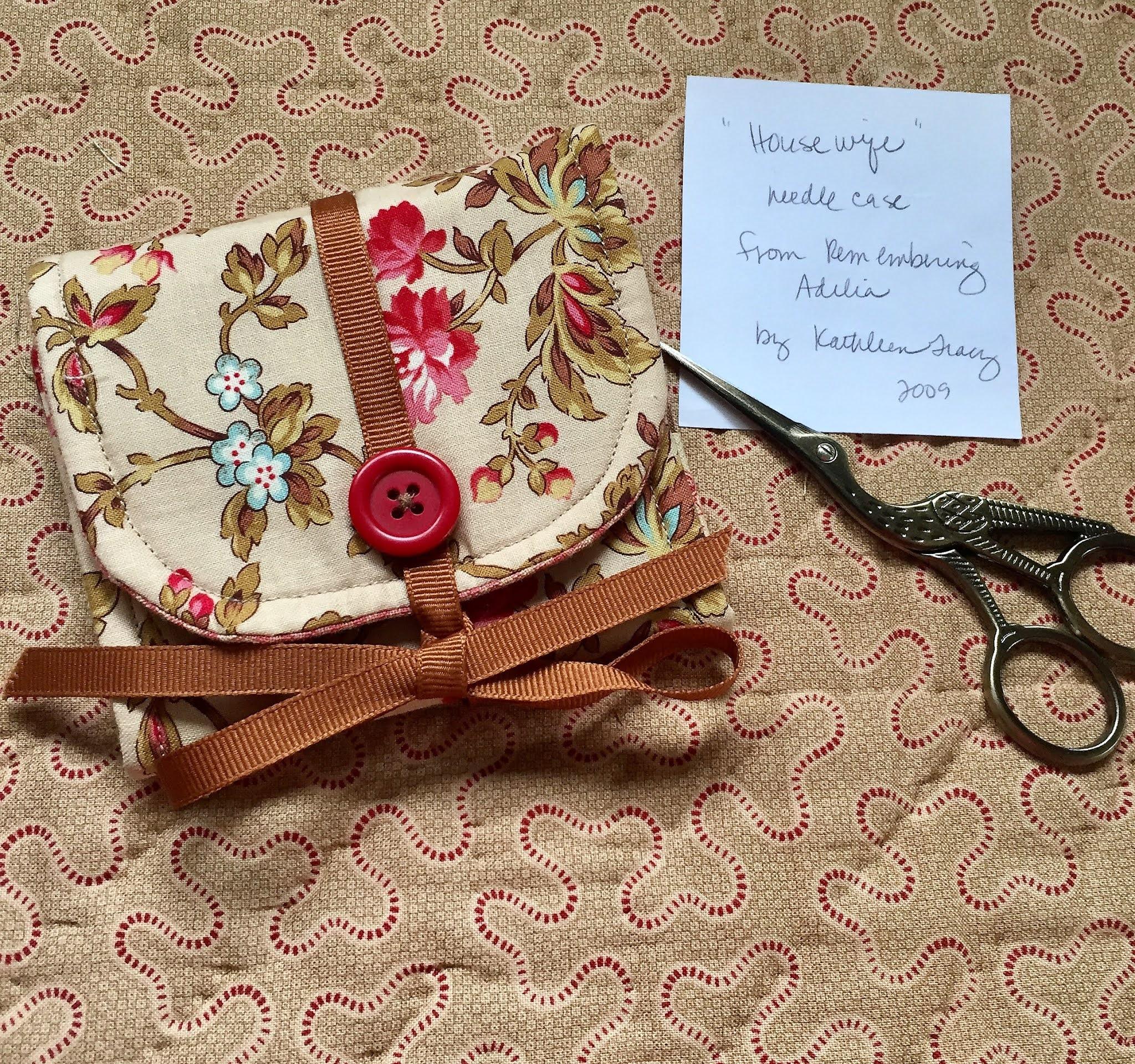 Reproduction Cilvil War Lady/'s Scissor Case