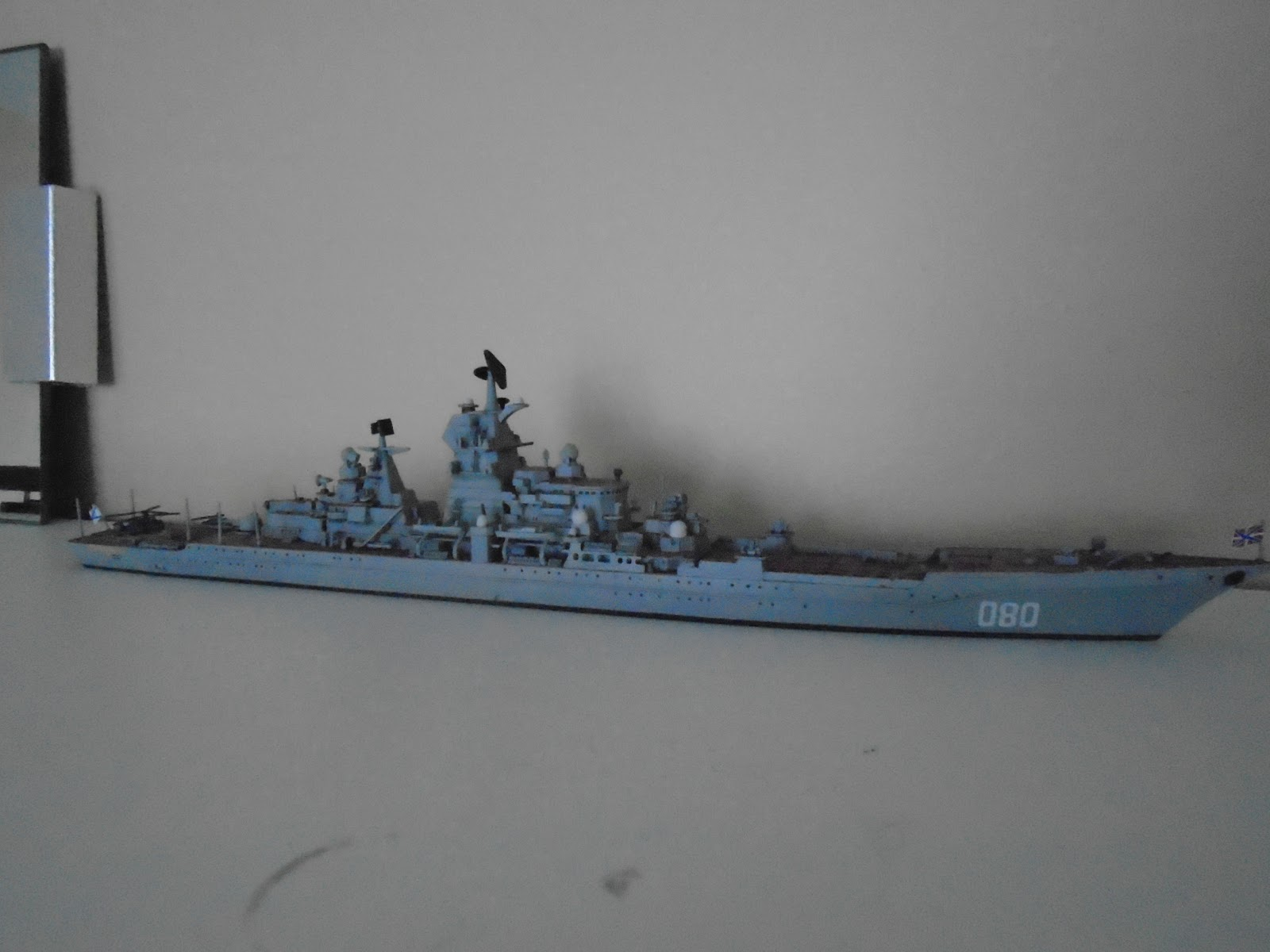 What will be equipped with the updated cruiser Admiral Nakhimov