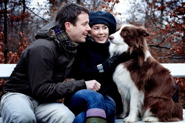 Crown Prince Frederik,  Crown Princess Mary, Prince Christian, Princess Isabella, Prince Vincent, Princess Josephine, Ziggy was a loyal and affectionate dog.