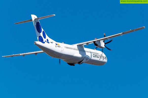 Objetivo Canaryfly:retomar la operativa con La Palma