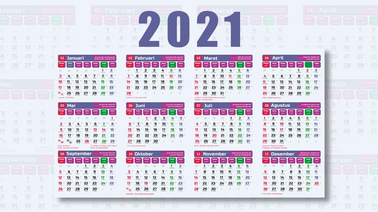 atau anda sedang mencari informasi   kalender  Rekomendasi Kalender 2021