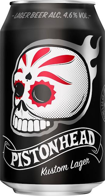 Pistonhead beer in can