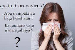Pengertian Coronavirus dan Pembahasan lengkap seputar penyakit