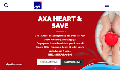 asuransi axa heart save