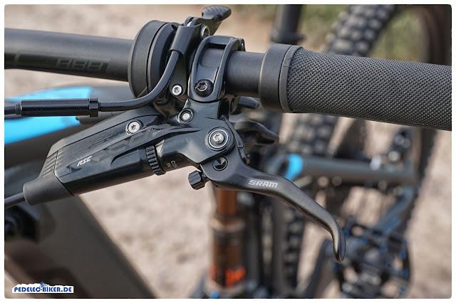 Im Detail: Die SRAM Code RSC Bremshebel am Focus Sam².