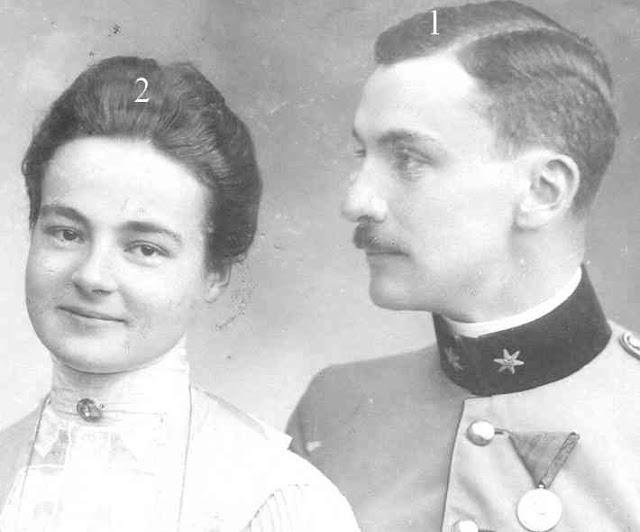 Princess Marie Reuss-Ferdinand, Baron von Gnagnoni ...