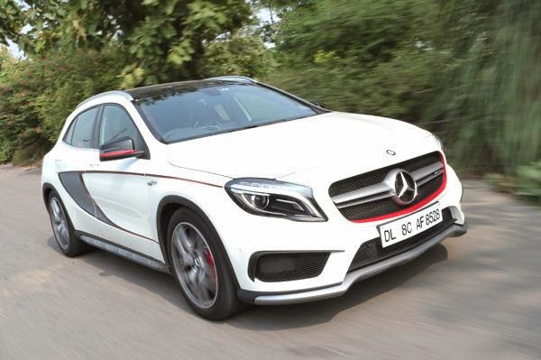 mercedes gla 45 amg india review test drive hi tech info. Black Bedroom Furniture Sets. Home Design Ideas