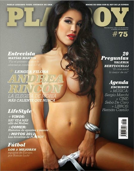 Andrea Rincón – Playboy Argentina