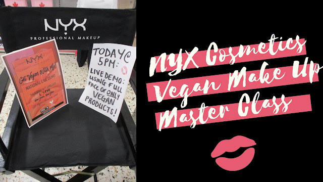 NYX Cosmetics Vegan Make Up Master Class
