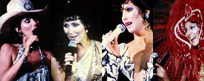 Cher during her 'A Celebration at Caesars Palace' residency