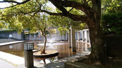 稲城市の城山公園 池