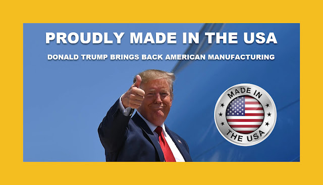 Memes: DONALD TRUMP BRINGS BACK AMERICAN MANUFACTURING