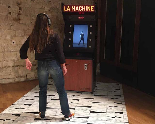 performance chorégraphique La Machine au Regard du Cygne